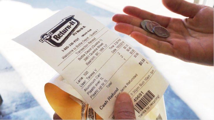 カナダで出産 〜現地の生活編・飲料容器で小銭をゲット〜